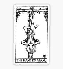 The Hanged Man (Light) Sticker