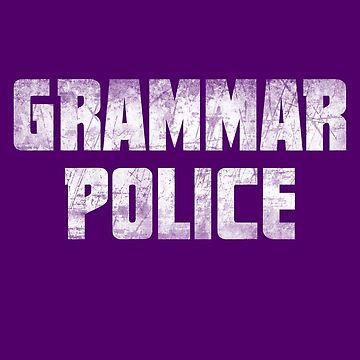 Grammar Police T-shirt Funny English Teacher Gift by niftee