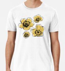 Yellow Buttercups Premium T-Shirt