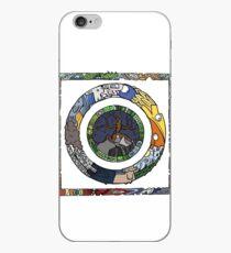 Square and Circle Mandala - COLOURED iPhone Case
