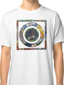 Square and Circle Mandala - COLOURED Classic T-Shirt