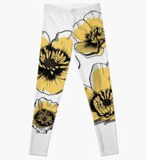 Yellow Buttercups Leggings