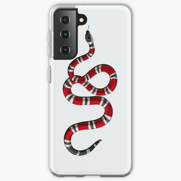 serpent blanc Coque souple Samsung Galaxy