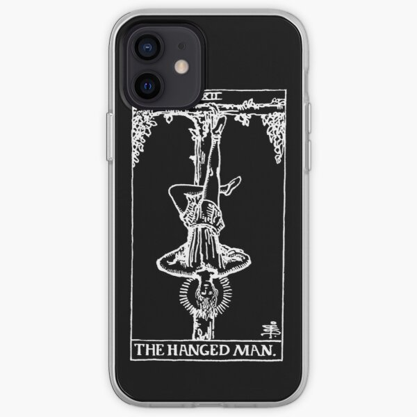 The Hanged Man (Shadow) iPhone Soft Case