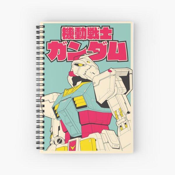 RX-78-2 Gundam Cahier à spirale