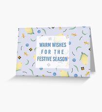 Australian Native Flower Christmas Style Card Greeting Card