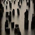 Hudson Pier by Catherine Hadler