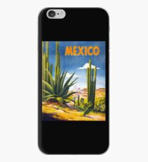 Mexico Vintage Poster Restored iPhone Case