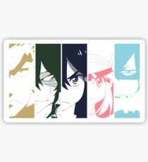 Ryuko and the Elite 4 Sticker