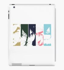 Ryuko and the Elite 4 iPad Case/Skin