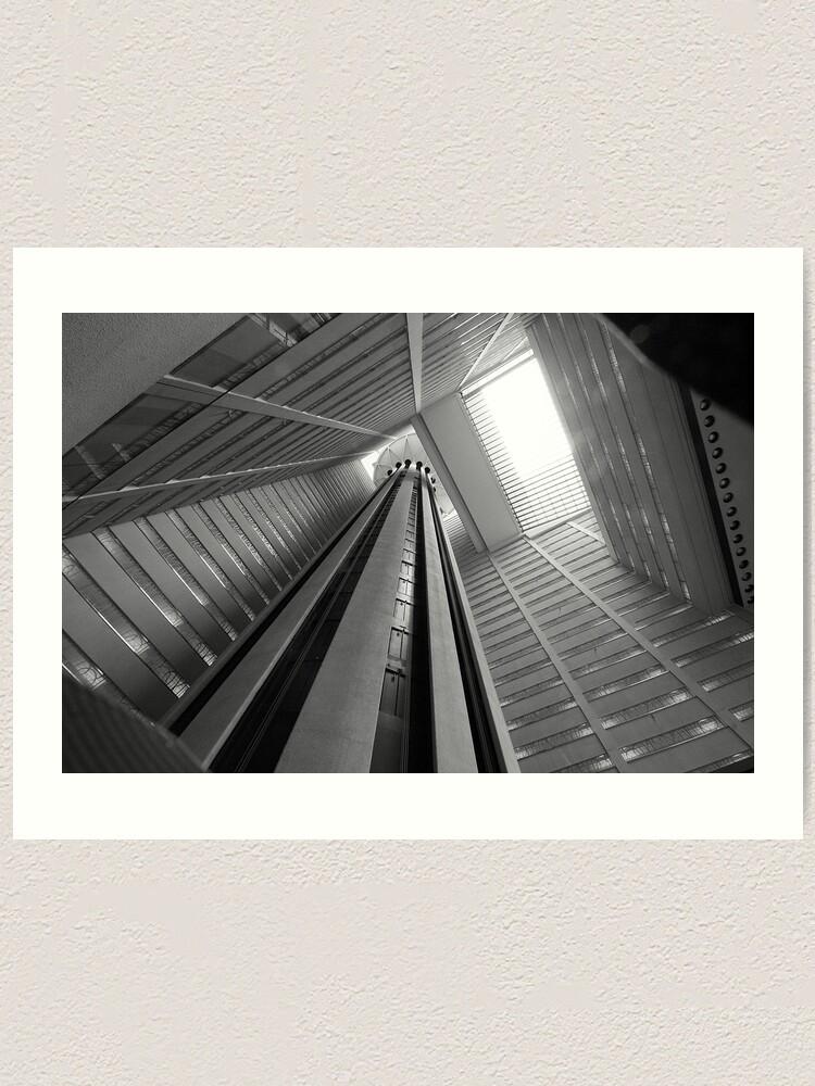 Alternate view of Atrium Art Print