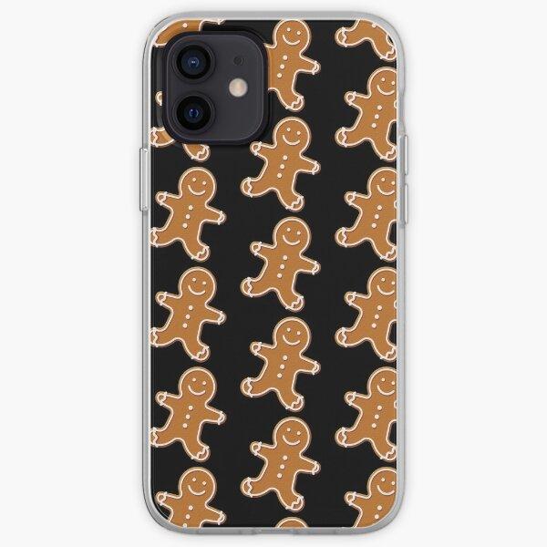Cookies-cute gingerbread man iPhone Soft Case