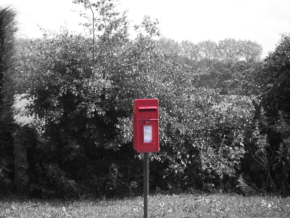 Red Postie. by tron746