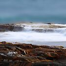 Rocks and Water by Angelika  Vogel