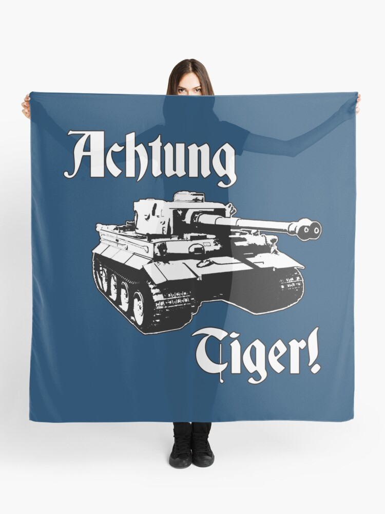 Tank Scarf Tiger Tank Scarf Navy and Gold