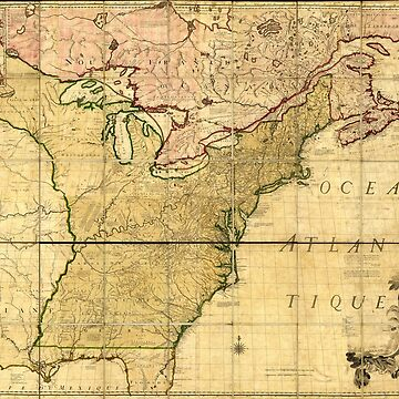 Map of Early America (1777) by allhistory