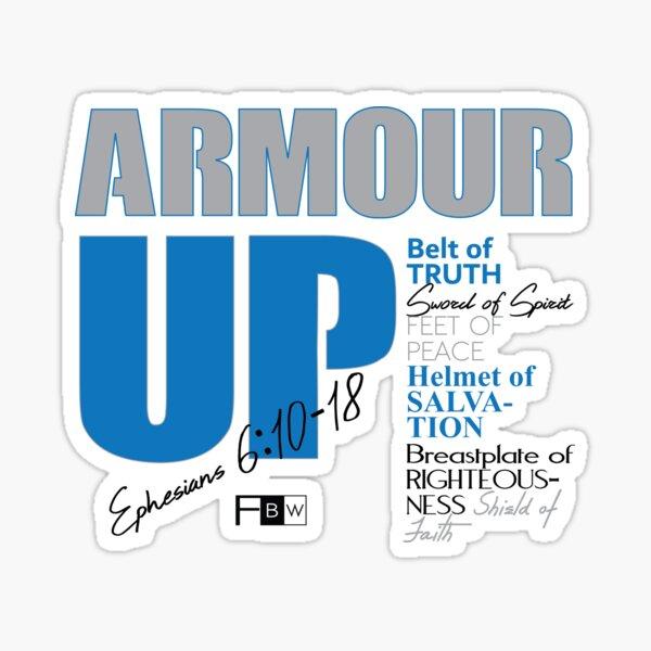 Armour Up Sticker