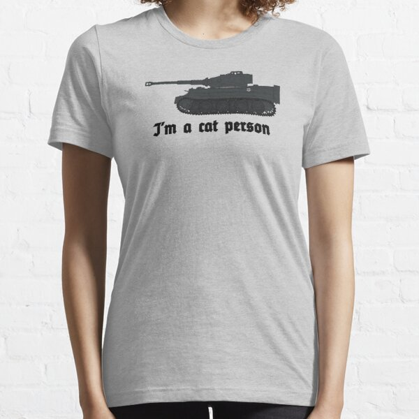 ww2 tiger tanks cat Essential T-Shirt