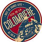Col De La Colombiere Motorcycle T-Shirt + Sticker - Route des Grandes Alpes by ROADTROOPER