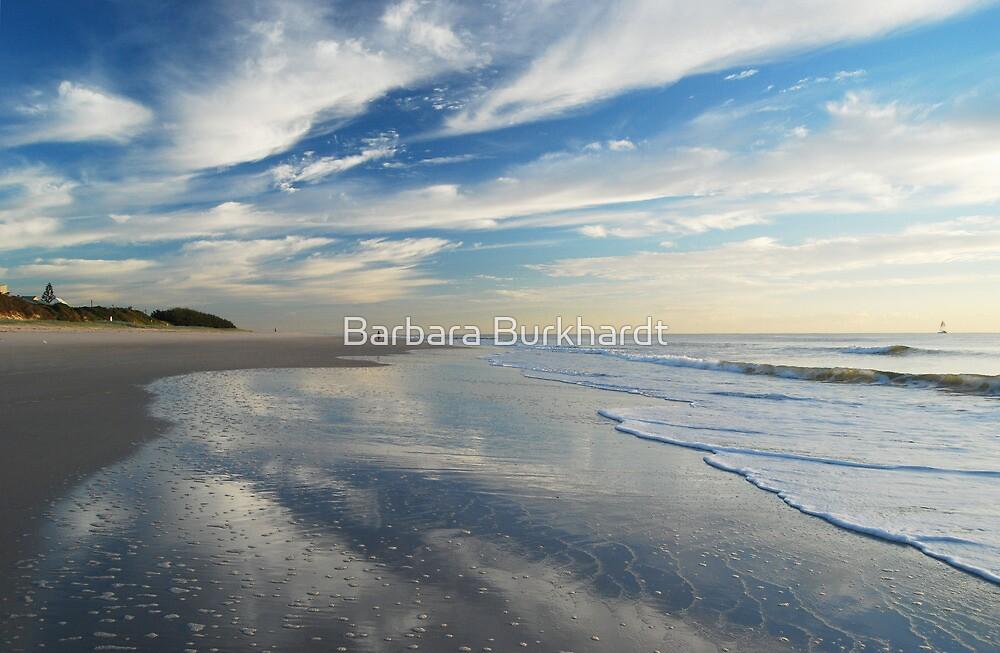Sky Blue ~ Bribie Island by Barbara Burkhardt