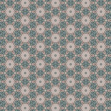 Exclusive Quirky Circular Pattern by broadmeadow