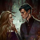 Feyre and Rhysand by NakaharA