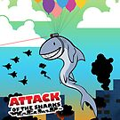 ATTACK of the Sharks W.F.L.B. by Shiuk