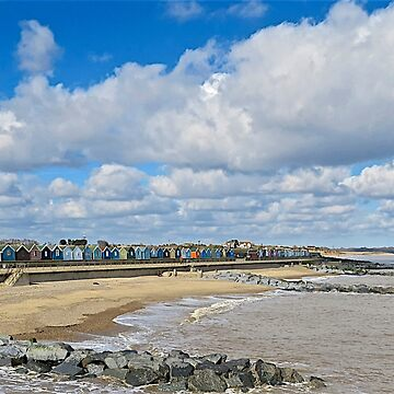 Beach Huts by JohnThurgood