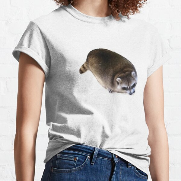 Fat Raccoon  Classic T-Shirt