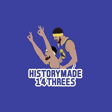 Klay Thompson 14 Threes by nbagradas