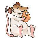 Glückliche Ratte von Jujibla