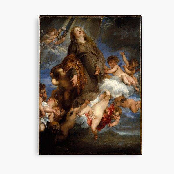 Saint Rosalie Interceding for the Plague-stricken of Palermo Canvas Print