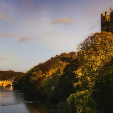 Autumn on the Wear by RichardSayer