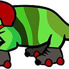 Roller Derby Chameleon by jezkemp