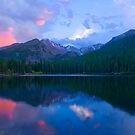 Longs Peak Sunset Above Bear Lake  by Paul Gana