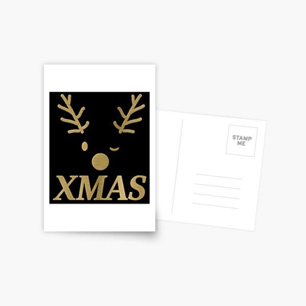 XMAS Rudolph Postkarte