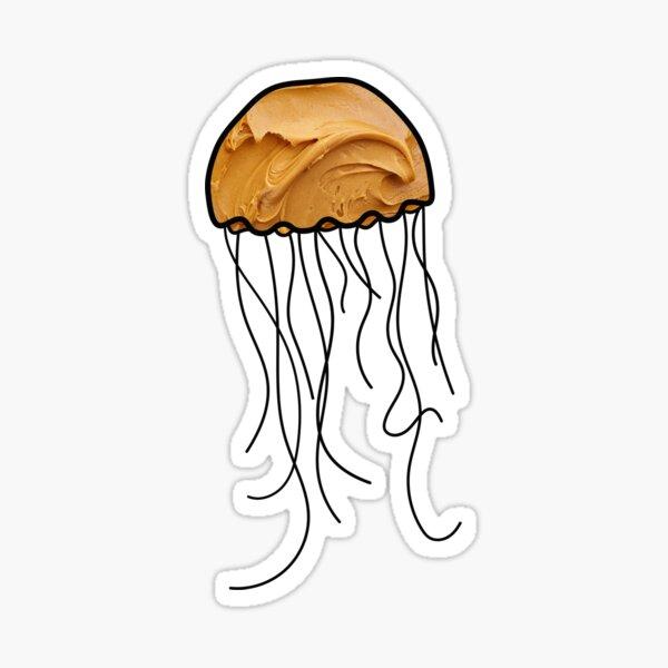 Peanut Butter Jelly Fish Sticker