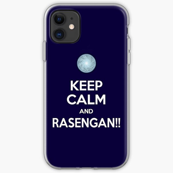 Keep Calm and RASENGAN!! iPhone Soft Case