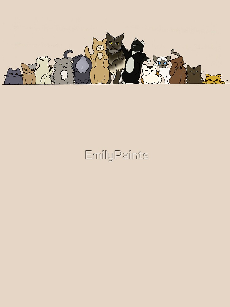 Kitty Lineup by EmilyPaints