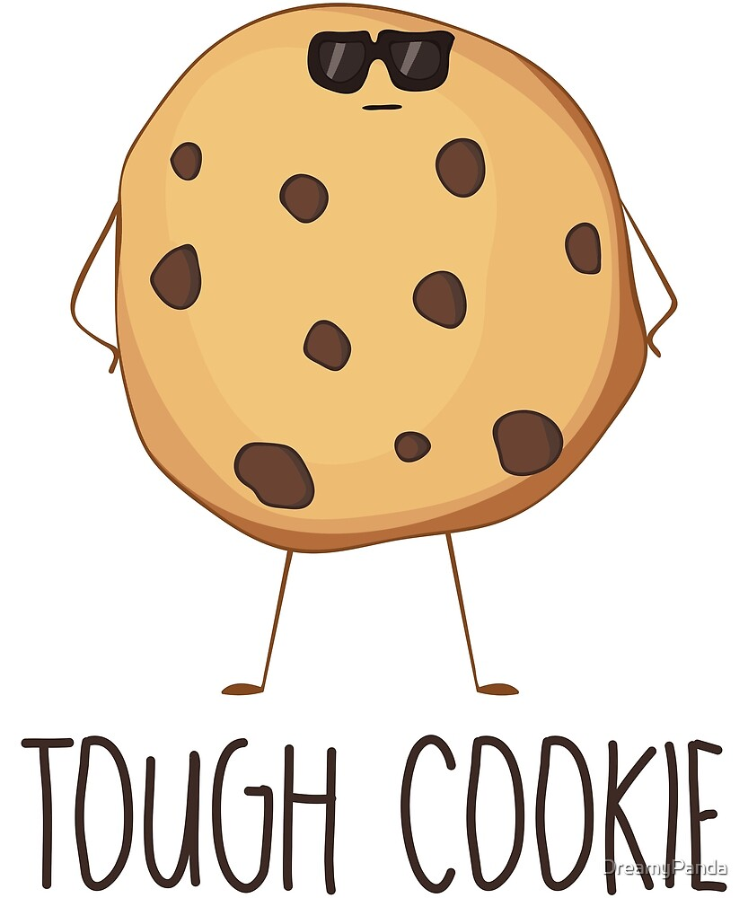 Tough Cookie - Cool Funny Cookie in Sunglasses Gift by DreamyPanda
