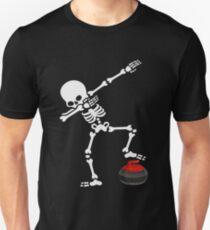5063befe1 Funny Dabbing Skeleton Curling Shirt - Perfect Dabbing Skeleton Curling  Hoodie - Women Man Kids -