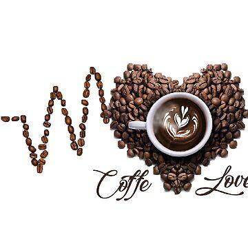 Coffee lovers heart by Johnnypointjoe