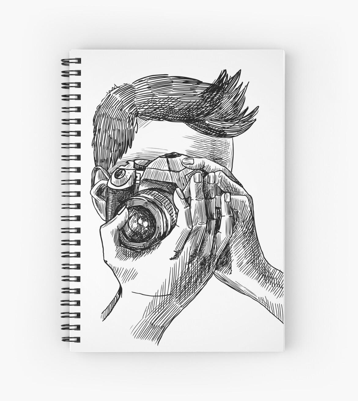 Photographer sketch portrait by Le Minh Tuan