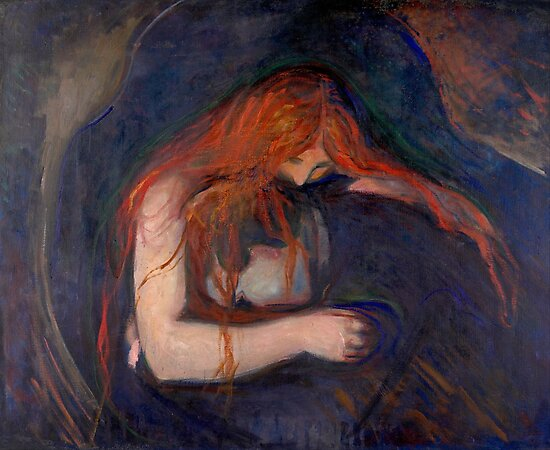 Vampire by Edvard Munch by goodcitizen