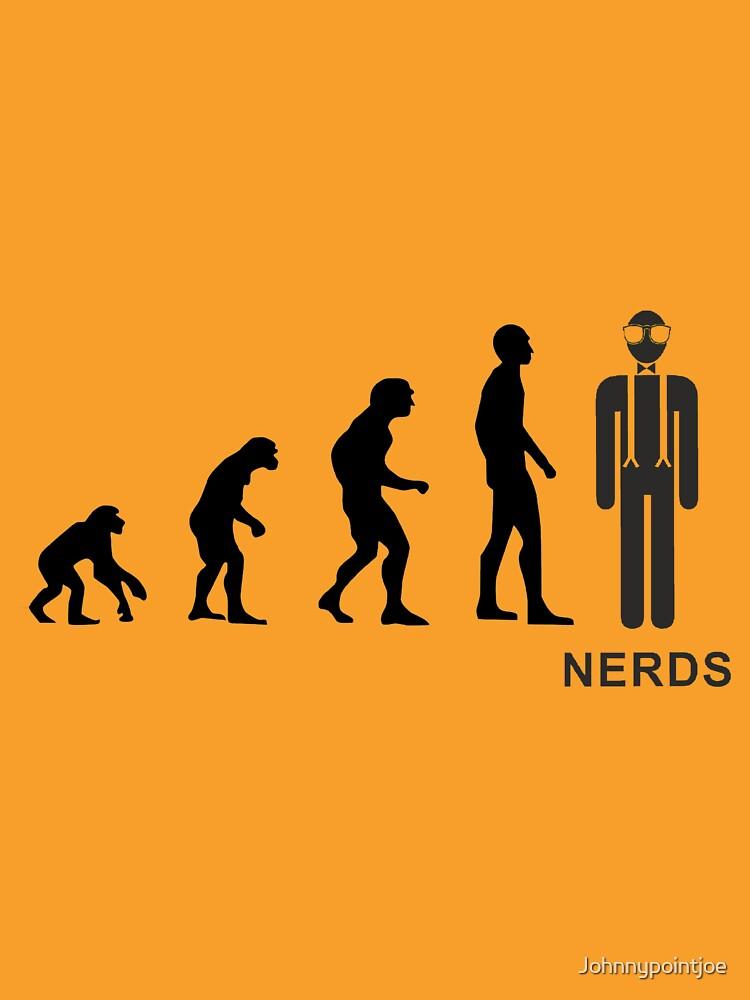 Evolution nerds by Johnnypointjoe