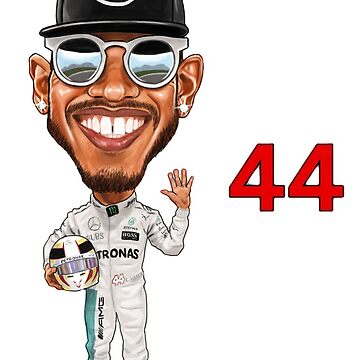 Lewis Hamilton 2018 5th World Championship by mal108