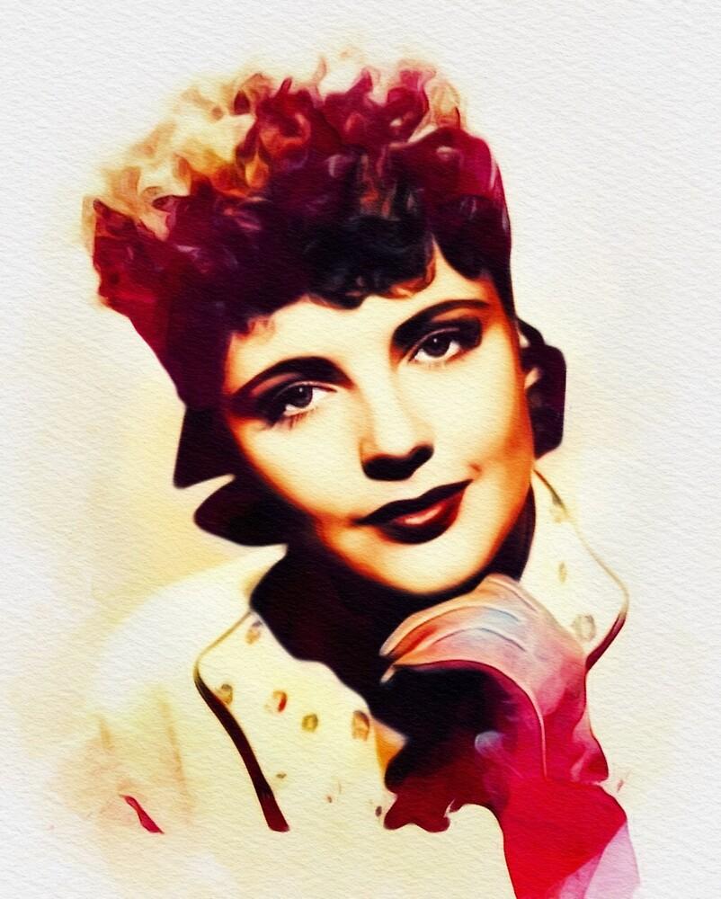 Kay Aldridge, Vintage Actress by SerpentFilms