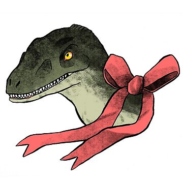 Velociraptor w/bow by susiedraws