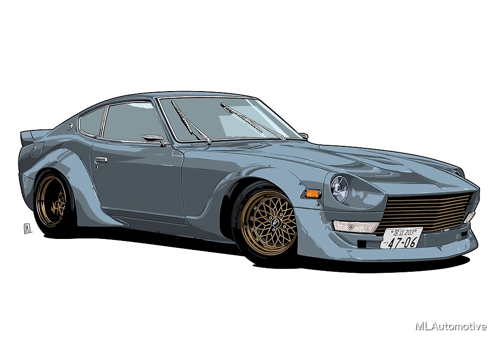 240Z Widebody by MLAutomotive