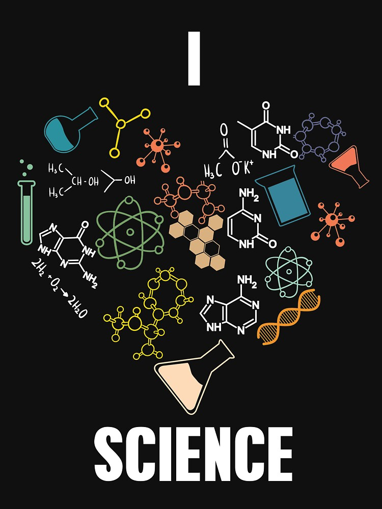 I Love Science by Wuselsusel